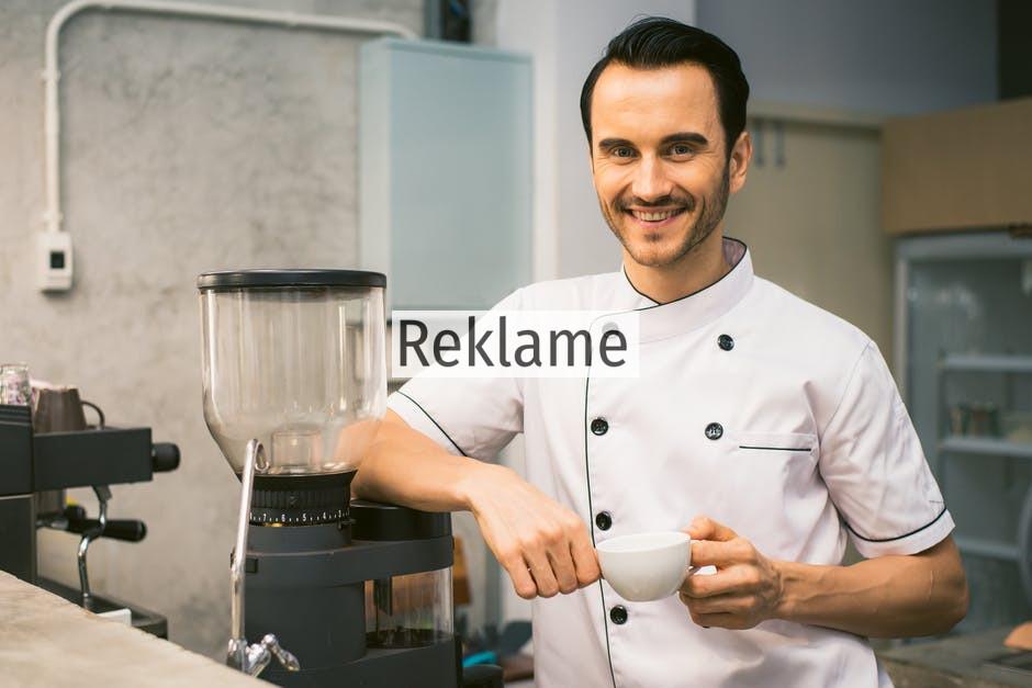 En kok må aldrig gå ned på køkkenudstyr